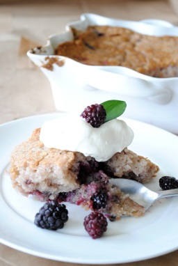 The Easiest Blackberry Cobbler Ever